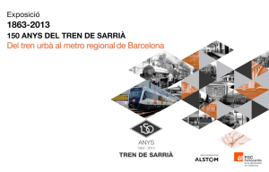 150 años tren de Sarria