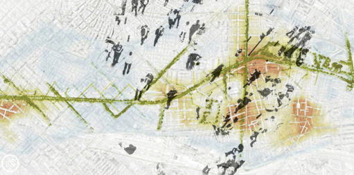 mayorga+fontana mapping transversalidad_avenida Meridiana