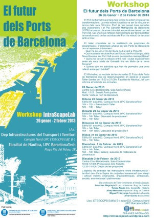 MAYORGA-FONTANA workshop-puertos-barcelona